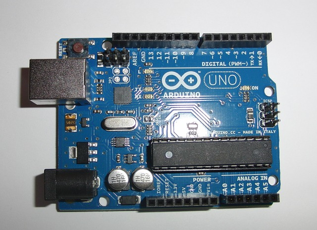 Arduino Uno full view